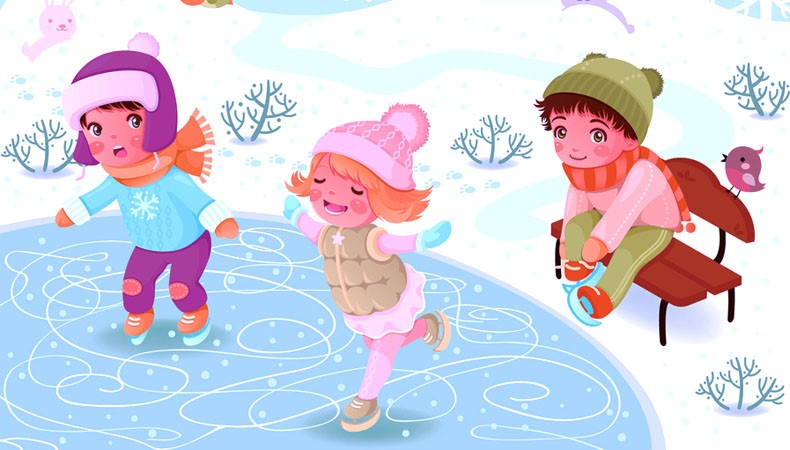 Закаливание детей в зимний период