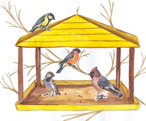 Акция  «Птичья столовая»